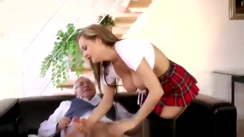 Hot Young Slut Gets Her Tight Hole Slammed By And Old Man