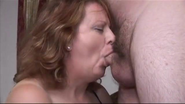Mature BBW having fun with chubby dude awesome sex with a public agent