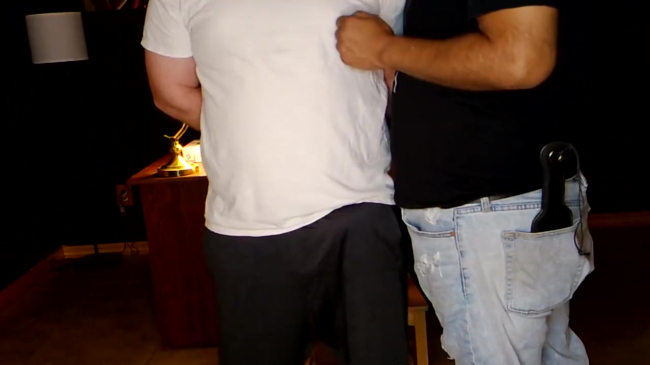 Another Satisfied Customer friends mom gives me a blowjob while husband watches