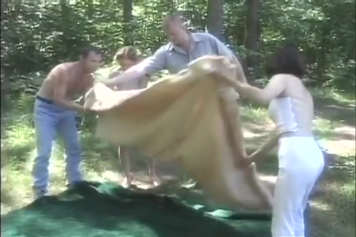 Party Of Four Goes For Some Enchanting Fucking In The Forest ebony tube com hd