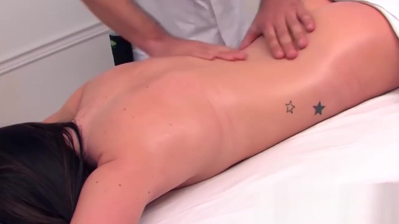 Little French babe screwed after gentle massage