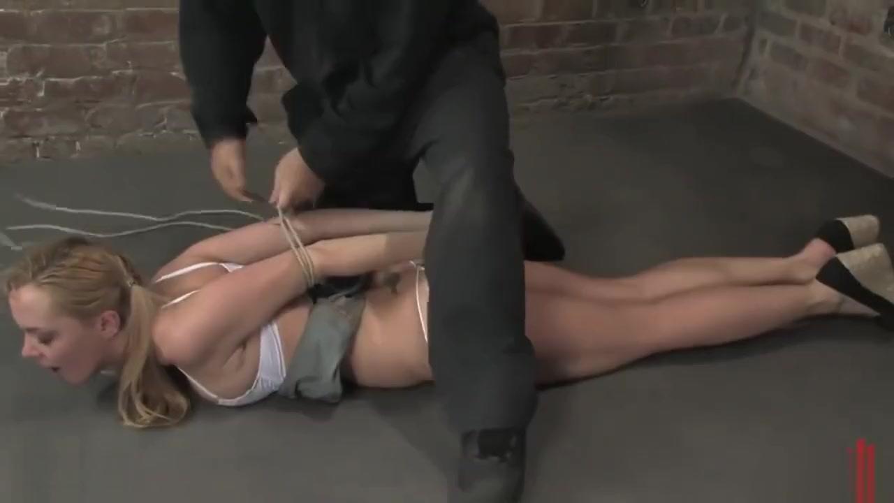 German slut Annette Schwarz manhandled bound gagged n orgasmed out of mind