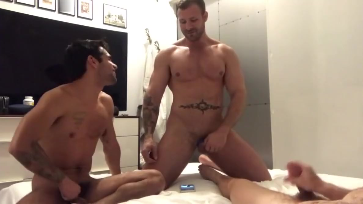 Sextape - 3way - Gabriel with TM AW - Part 2 Most beautiful transsexual contest