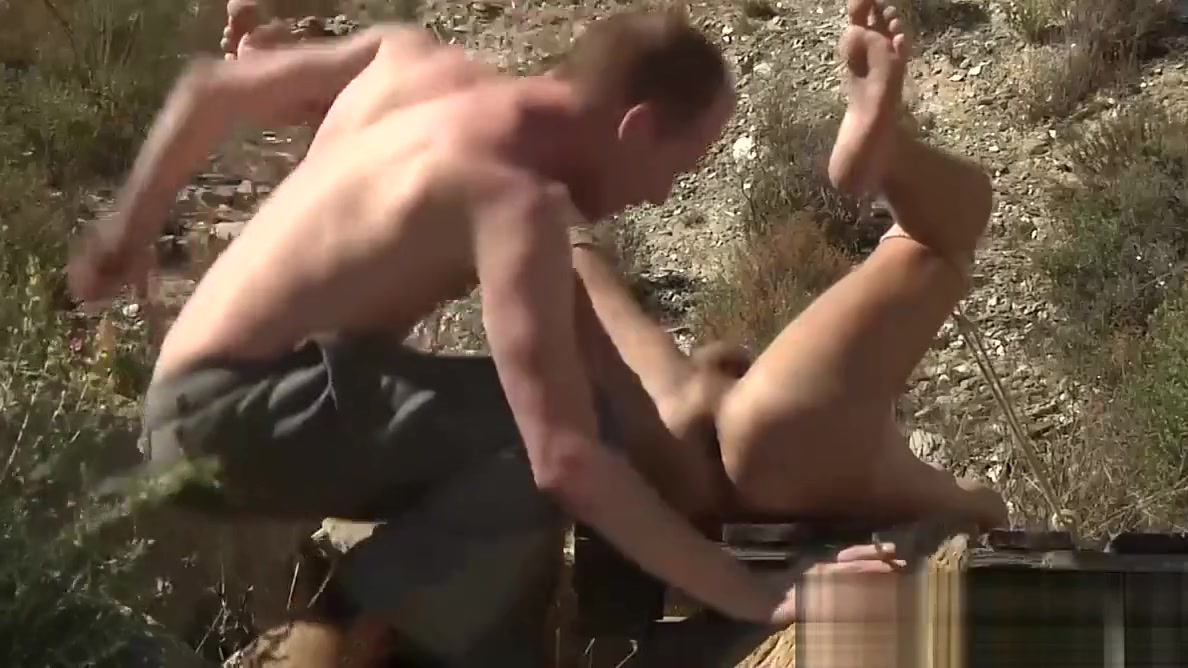 Sean gets really dirty with Justins asshole outdoor stiff dicks up close