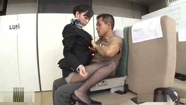 Japan Stewardess training 8