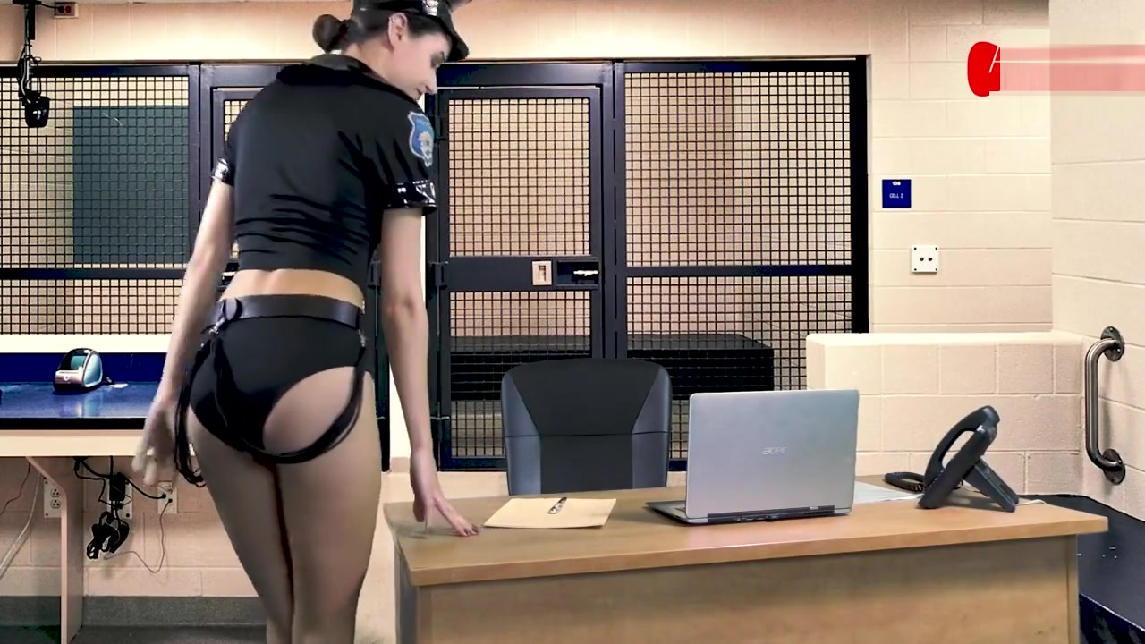 Topless Police Arrest ASMR by Lucifera