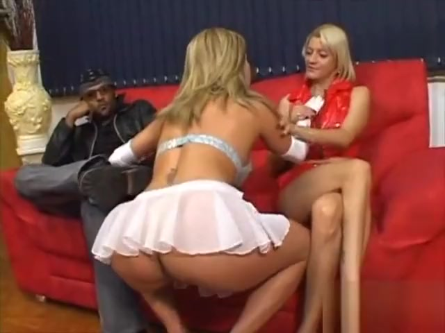 Strap on slut jumps into an interracial threesome Sinopsis Married Without Dating Ep 12