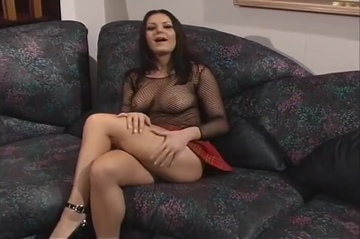 Babe In Fishnet Top Plays With Pussy And Fucks Hardcore Questions you ask a guy you're hookup