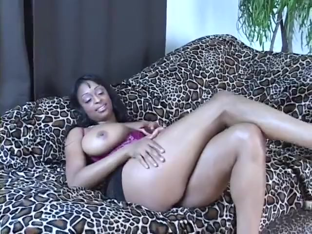 Black Girl with Big Bountiful Tits Gets Railed by BBC