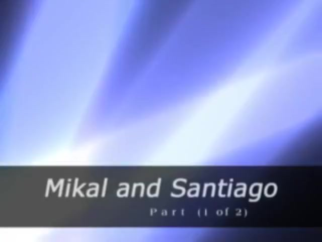 Mikal fucks Santiago bareback hardcore fucking in the ass