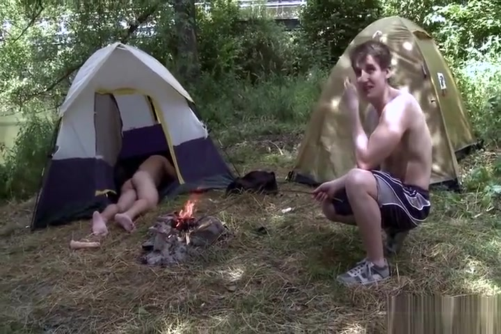 bare arse Camping Peter north monster cumshot