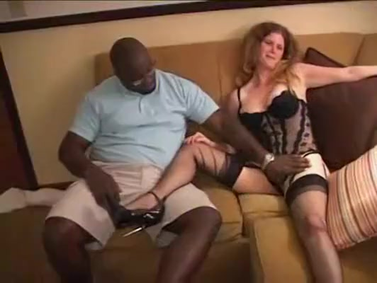 Black Cock Whore Kassidy Interracial eating mature women pussy video