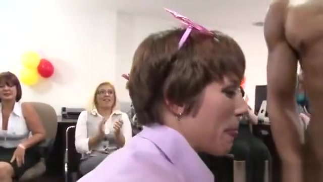 Office girls celebrating birthday with cock in their mouth Hot middle age porn