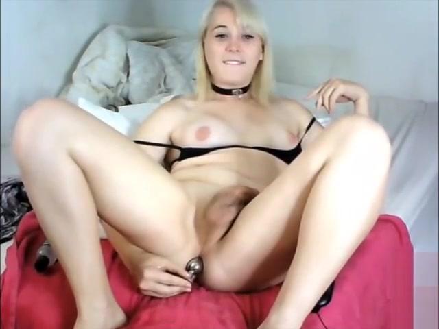 blond ladyman large 10-Pounder On webcam