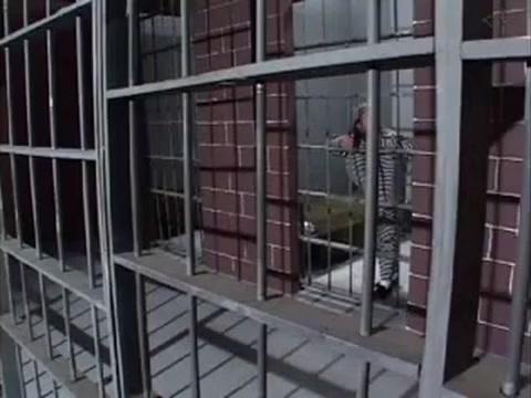Midget Prison Guard Gets Fucked By Big Cocked Prisoner