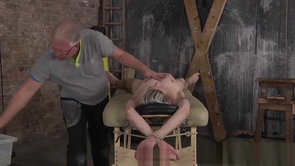 Old ugly fruit invites his new fuck buddy in the sex dungeon Black women sex video com