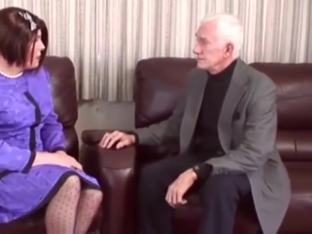 Old Man with Crossdresser Upskirt panty sex videos