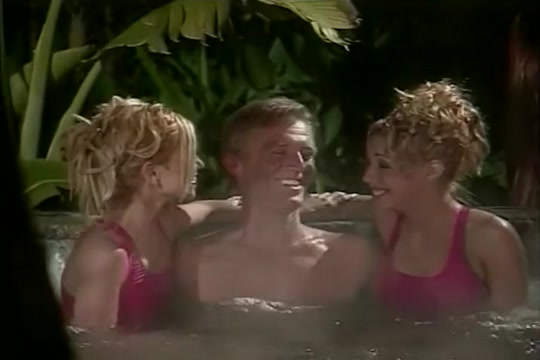 Three Hot Blondes Fuck A Huge Cock