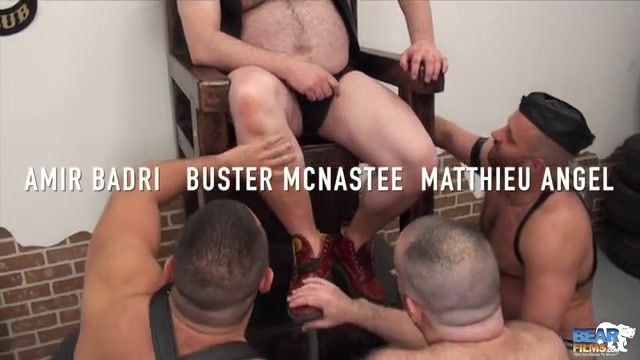 Amir Badri, Tristan Riant, Buster Nastee and Matthieu Angel - Part I - BearFilms from top to bottom dvd