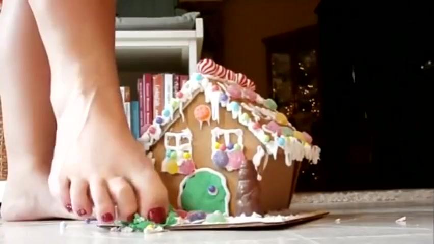 Barefoot Christmas Crush Tumblr homemade videos