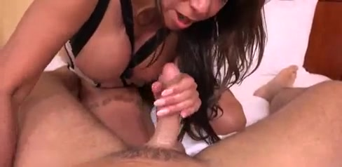 Mature Head and Hand Job and Washes the Cock Clean Real big bobs