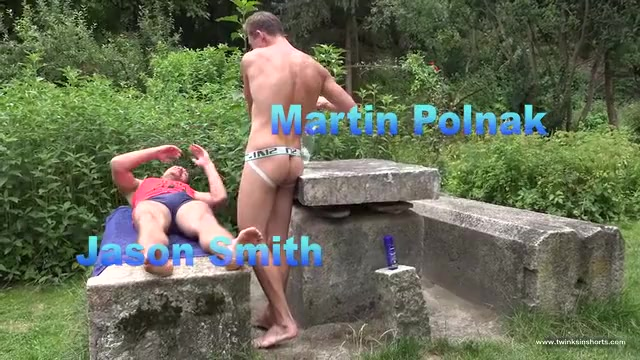 Martin Polnak and Jason Smith - TwinksinShorts watch my black gf porn