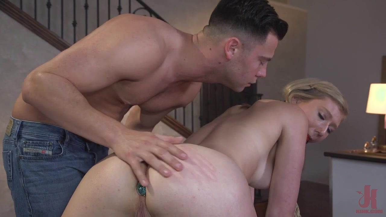Juliette March is Disgusting in this Brutal All-Anal Public Scene! - SexAndSubmission