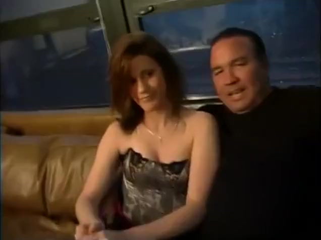satin gloves sex and blowjob
