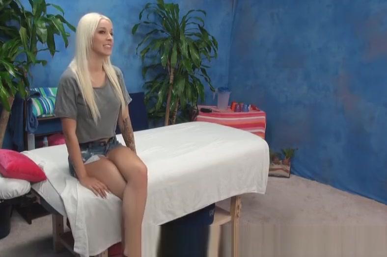 Hot Blonde Seduced by Massage Extreme black sex