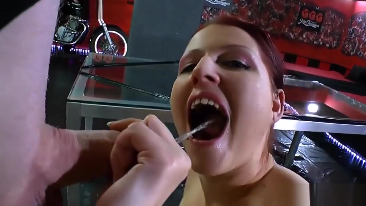Piss gulping ho nailed japanese bbw red and black lingerie big tits porn