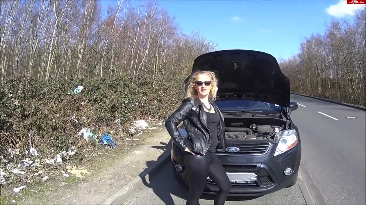 Autopanne - Blonde Ficke zum Blasen ueberredet! Best adult friend finder