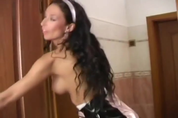 Two French Maids Use A Dildo On Each Other Instead Of Cleaning Black brazilian lady free sex video