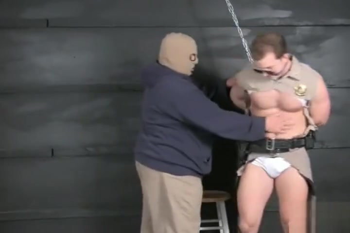 Cop bound gagged stripped and jerked off. Taylor Vixen Lesbian Fun