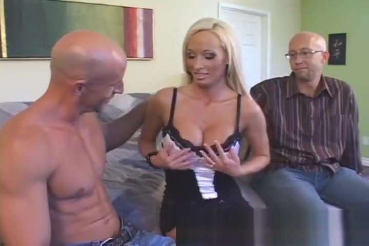 Sweet MILF Shared With Real Man Brunette pussy tit