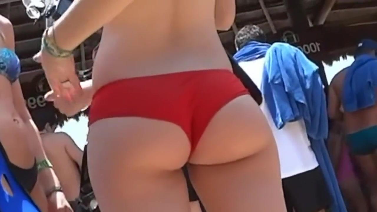 Candid PAWG Ass in Red Bikini What does nsa on hookup sites mean