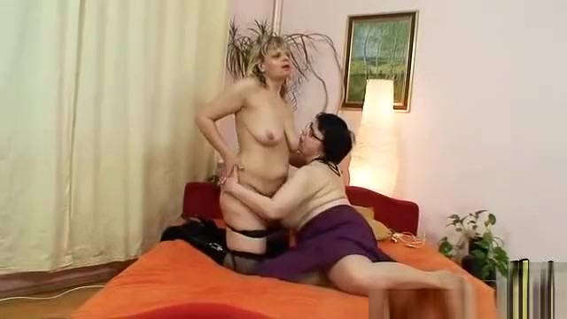 Amateur grannies perverse lesbian pussy games Pissing And Fisting on The Balcony