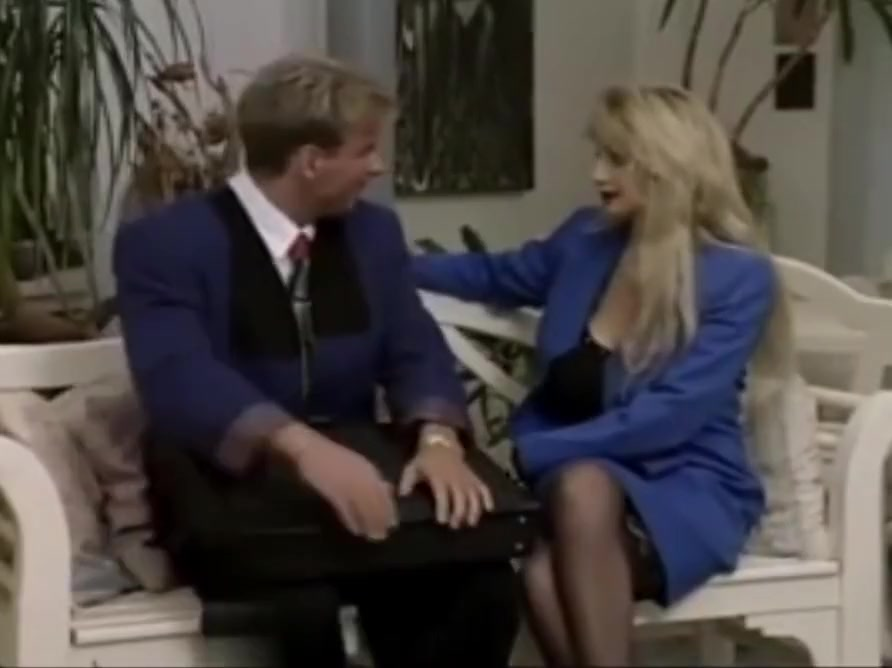 Busty Blonde in stockings gets seduced in the office Real slut party discount