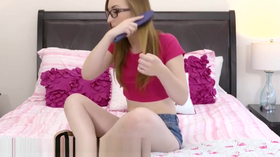 OnlyTeenBlowjobs Nerdy Teen Step Sister Sucks Brothers Cock male anal play female