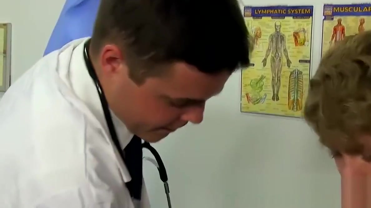 Twink lad Anthony Evans has a nervous visit with the doctor Porn pictures for black girls
