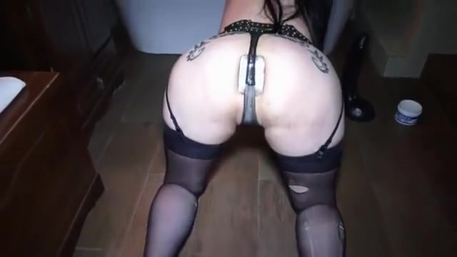 sex slave slut anally abused and used by Master