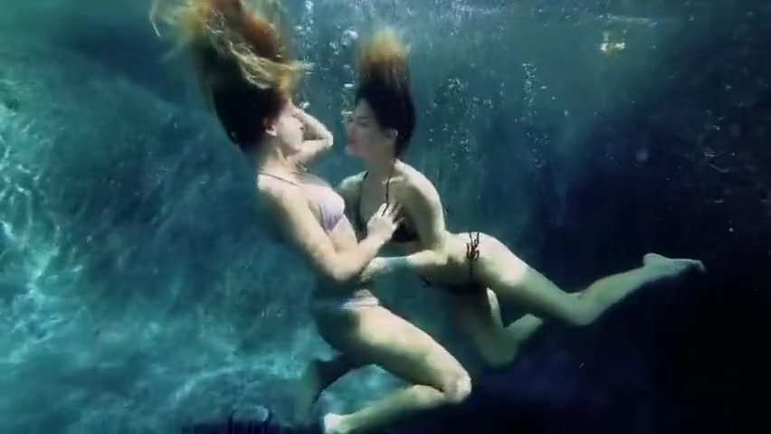 Evelyn underwater sex lesbian Drunk wife public sex