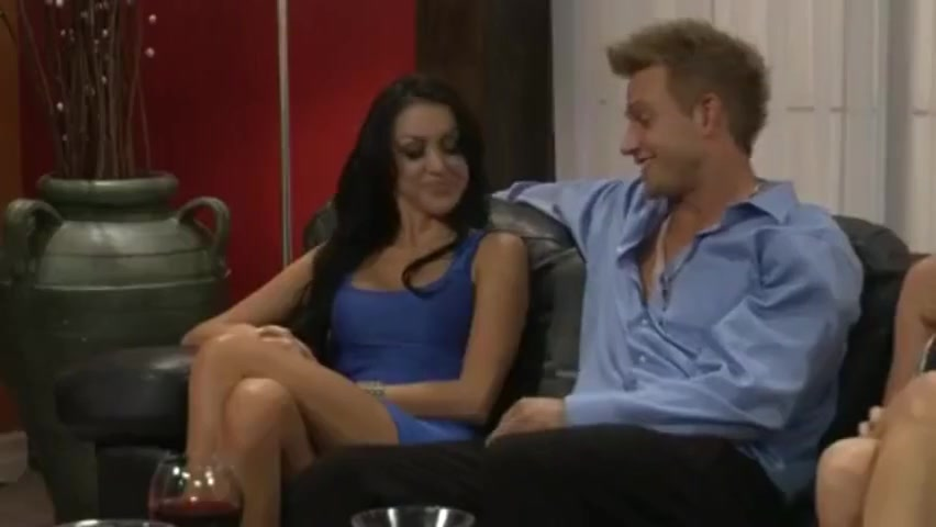 The Key Party 5: Fourgy across her knee spanking