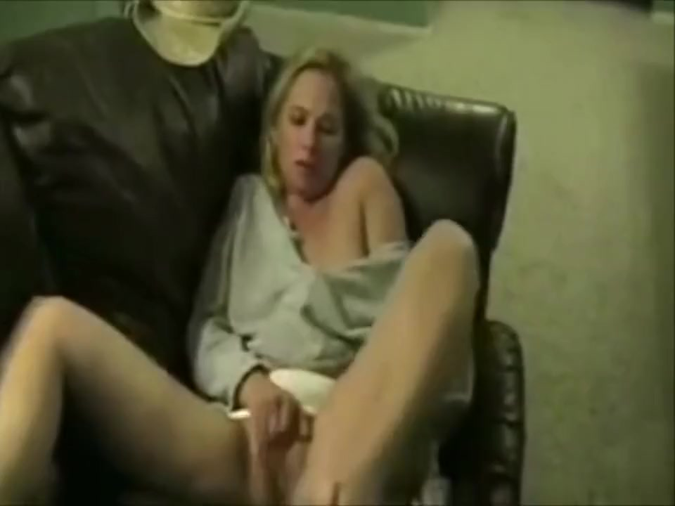 Hot Blonde Milf Masturbation Video For Hubby