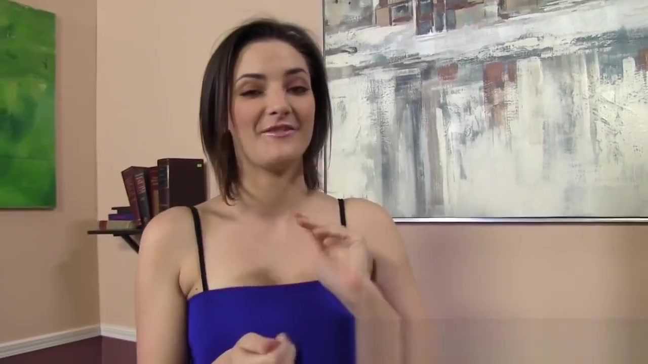 Brune gives bbc footjob slutload gammie eats cum