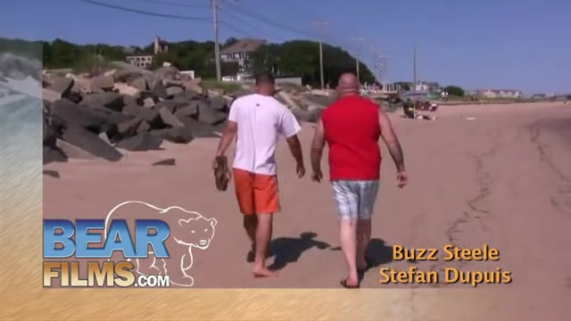 Buzz Steele and Stefan Dupuis - BearFilms Bart simson naked skate