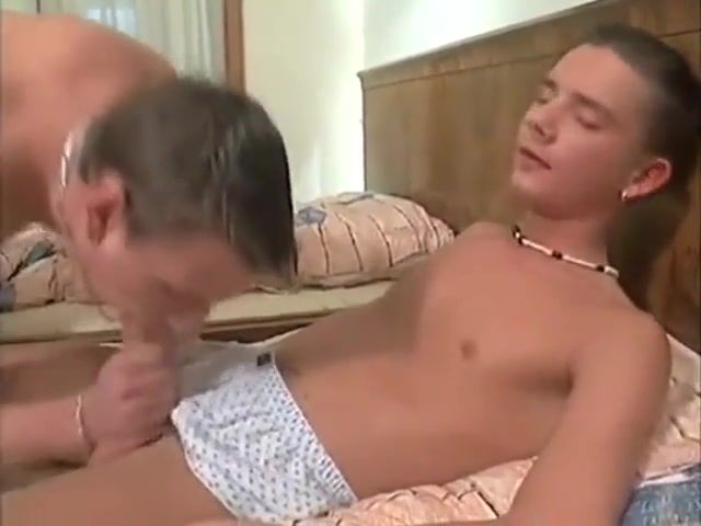 Hot Twink Threesome Hot college girl gets her first hardcore anal sex