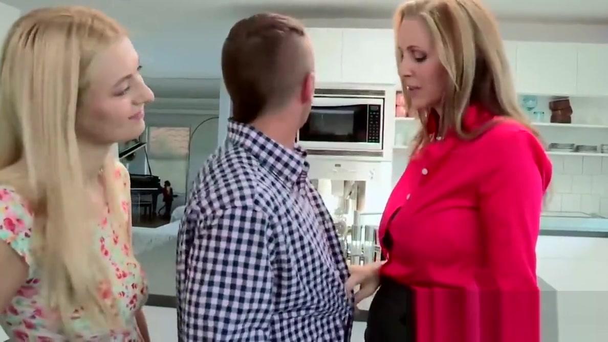 Natalia shares her boyfriends cock with her stepmom Julia An