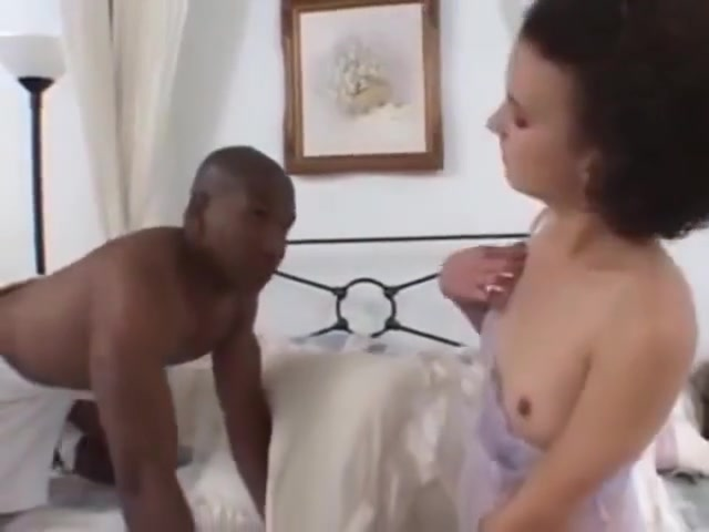 Slut Sucking Big Cocks Hard In Interracial Gang Bang Hard