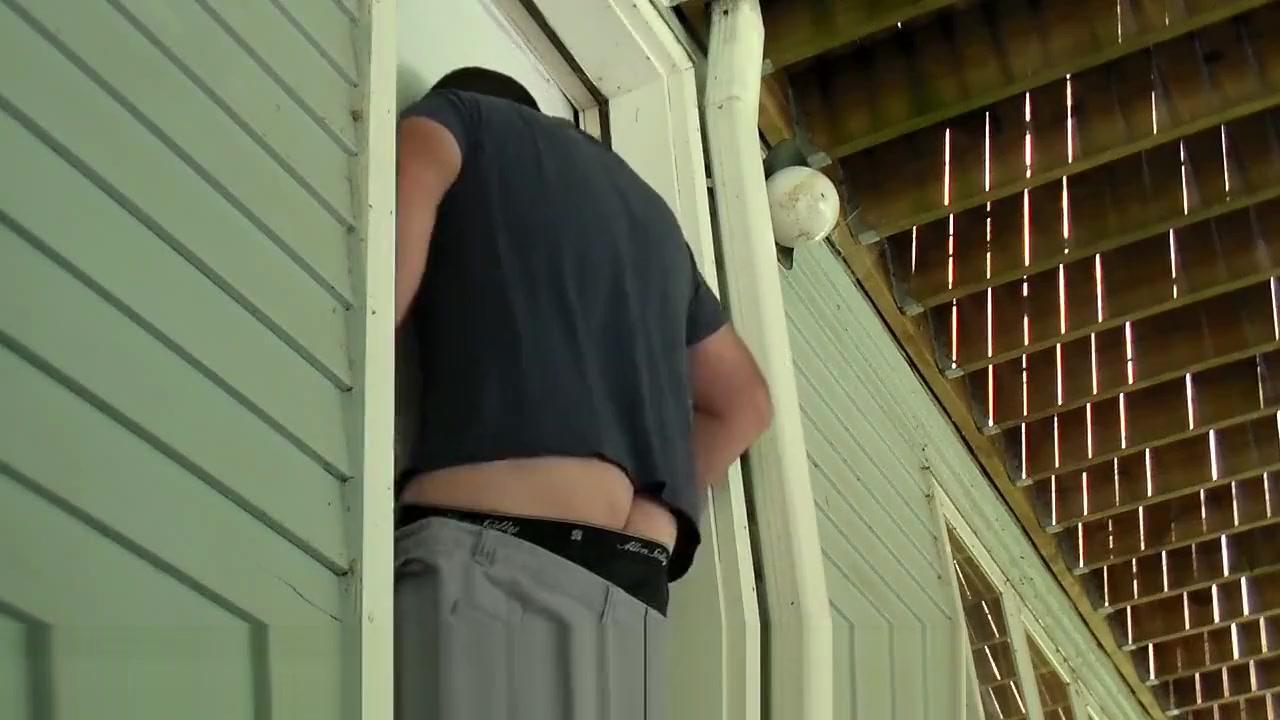 Back Door Blowjob!! Mason moore fake tits