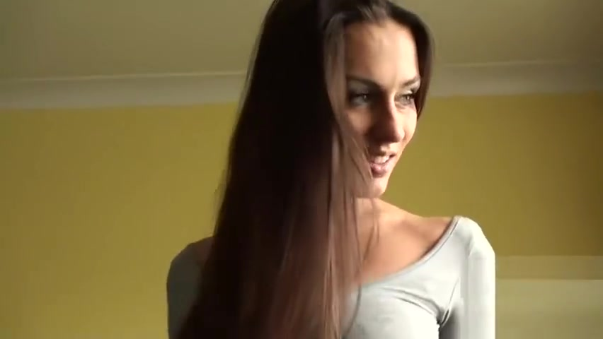 Sexy ass babe Mea Malone with natural tits solo session Lovely cunt pictures